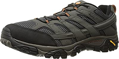 Merrell Men's Moab 2 Gtx Hiking Shoe, Beluga, 7.5 W US