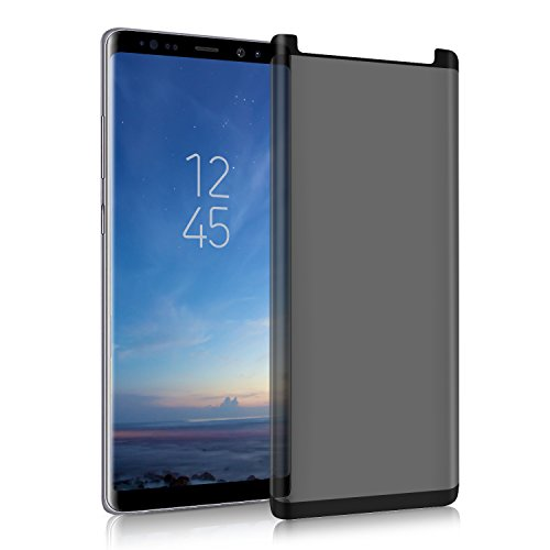 GBBC Galaxy Note 8 Privacy Anti-Fog Tempered Glass Screen Protector [Upgrade Version] [no Bubble] 9H Hardness Scratch-Resistant, Suitable for Samsung Galaxy Note 8