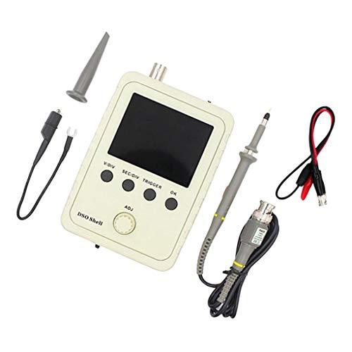 gazechimp Kit de 2.4'' Osciloscopio Digital DIY para el Segundo Desarrollo Sobre, se Puede Cambiar a Milivoltímetro, Registradores de Datos
