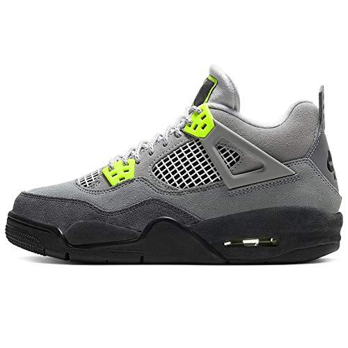 Nike Air Jordan 4 IV Retro SE 95 Neon GS Grade School 2020 CT5343-007 US Size 5.5Y