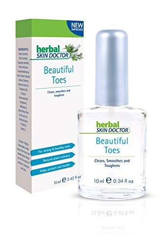 Herbal Skin Doctor Beautiful Toes Clears, Smooths, Toughens And Helps Promoten Attractive & Healthy Nails Toe Nail Treatment Toenail Fungus Treatment 10 Ml
