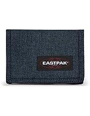 Eastpak Crew Single Porte-monnaie, 13 cm, Bleu (Triple Denim)
