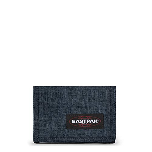 Eastpak Crew Single Geldbörse, 13 cm, Blau (Triple Denim)