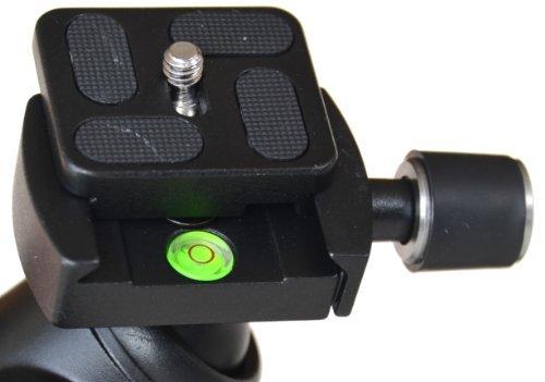 togopod Schnellwechselplatte für den 360 Grad togopod Kugelkopf (Schnellwechselplatte für Max Luisa ect.)