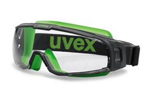 uvex u-sonic Compact Goggles (Grey/Lime- Clear Lens) by Uvex