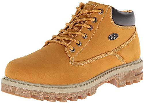 Lugz Men's Empire WR Thermabuck Boot, Golden Wheat/Cream/Bark/Gum, 10 D US
