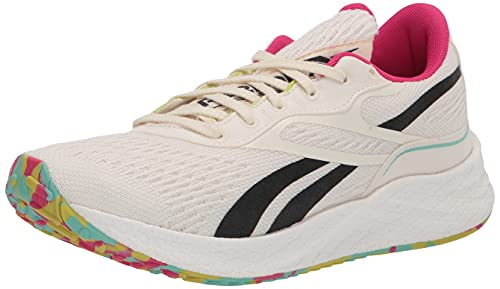 Reebok Men's Floatride Vitality Operating Shoe, Sustainability Sequence/Non-Dyed/Pursuit Pink, 9.5 thumbnail