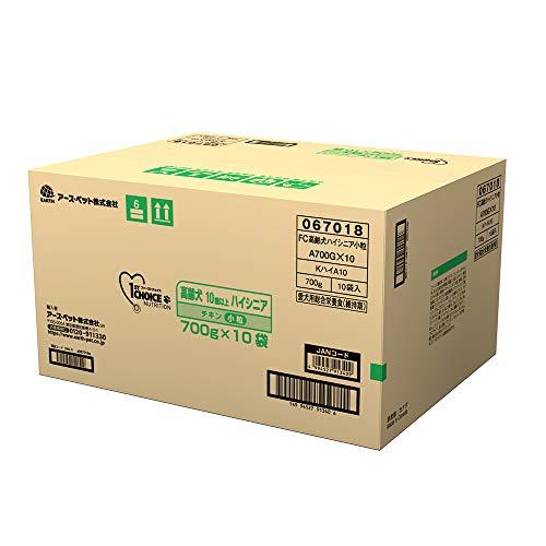 【Amazon.co.jp限定】 ファーストチョイス ドッグフード 高齢犬 ハイシニア 10歳以上 小粒 チキン 700g×10袋