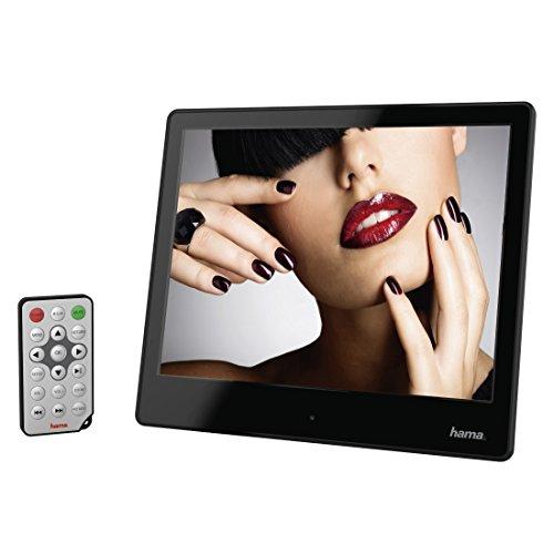 "Hama 8SLP 8"" Negro Marco fotográfico Digital - Marco Digital (20,3 cm (8""), 1024 x 768 Pixeles, LED, 300 CD/m², 500:1, 4:3)"