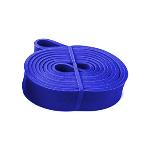 Faixa Elastica Extensor Resistencia Crossfit Exercicio Latex Super Band Azul