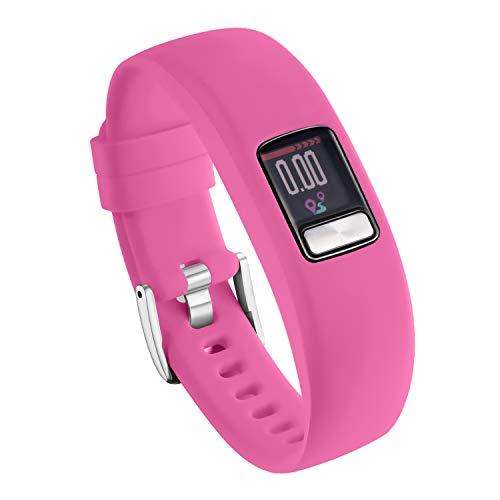 Ansblue Correa Compatible para Garmin Vivofit 4 Correa, Smooth Silicone Replacement Wristbands Correa Compatible para Garmin Vivofit 4, Pulsera Mujer Hombre Strap