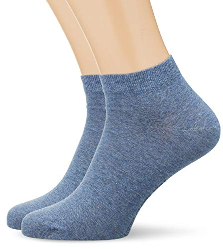 Living Crafts Sneaker-Socken, 2er Pack 39/42, infinity blue