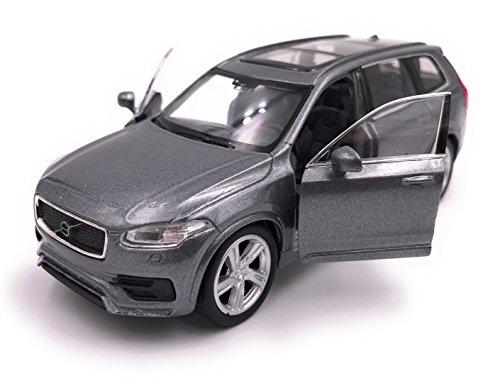 H-Customs Volvo XC 90 Modelauto gelicentieerd product 1:34-1:39 zilver
