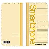 Qua phone QZ KYV44 対応 スマホケース 全機種対応 手帳型 おもしろ 面白い おもしろい ノート 筆記用具 学校 カラバリ メモ スマートフォン ケース