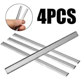 4pcs / set 82mm Cuchilla de cuchillas cepilladoras para Bosch PHO 25-82 / PHO 200 / PHO 16-82 / B34 HM Hoja de cepilladora de madera de carburo, como se muestra