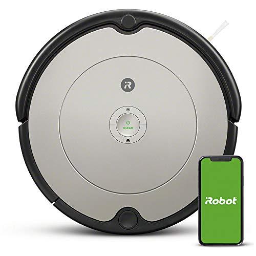 【Amazon.co.jp限定】ルンバ 692 アイロボット ロボット掃除機 WiFi対応 遠隔操作 自動充電 グレー R692060 【Alexa対応】 最大幅340 x 高さ92(mm)