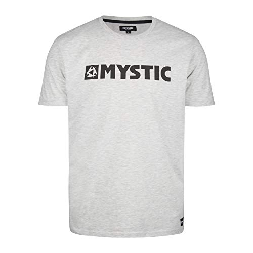 Mystic Sports Nautiques - Surf Kitesurf et Windsurf Hommes Brand Tee T Shirt Top - Sky Décembre - 50% Coton / 50% Polyester