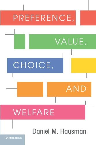 Preference Value Choice and Welfare product image