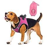 Belababy Hundegeschirr, kein Ziehen, bequem, atmungsaktiv, reflektierendes Hundegeschirr, extra weiches Mesh-Hundegeschirr, Trainingsgeschirr für Welpen