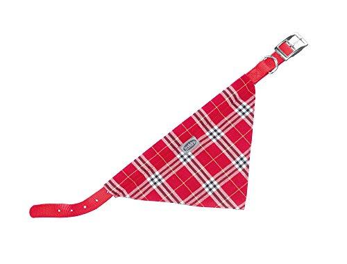 Nobby Halsband mit Tuch rot L: 35 cm; B: 10 mm