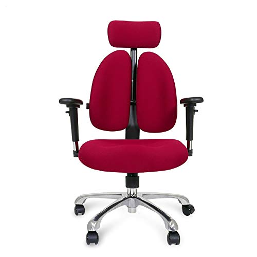 Qi Peng-//Chaise pivotante - Chaise pivotante pour Ordinateur Chaise Ergonomique Game Chaise Esports Chaise de Bureau Montante à la Maison Chaise à Dossier Double Chaise pivotante (Couleur : B)