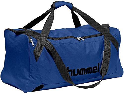 hummel CORE Sports Bag - Sporttasche Tasche, True Blau/Schwarz, M