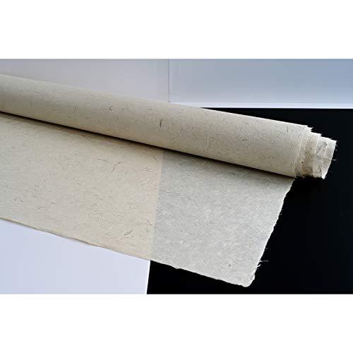 Hanji Nara, ungebleichtes handgefertigtes Papier, koreanischer traditioneller Hanji-Drachen-Wolke, Unryu-Stränge, Faser-Textur, UnYongJi, 3 Blätter, 2-lagig