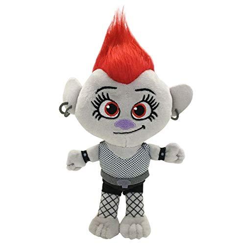 LuLezon Trolls 2 World Tour Barb Plüschtiere weiche ausgestopfte Puppen 23cm