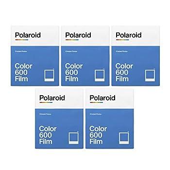 Polaroid Originals Instant Classic Color Film for 600 Cameras Bundle  40 Exposures   5 Items