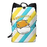 Gudetama The Lazy Egg Backpack,School Daypack Shoulder Travel Bag Laptop Backpacks For Adults Kids