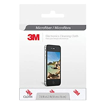 3M Electronics Microfiber Cleaning Cloth  Cloths Total  Gray 20 Count