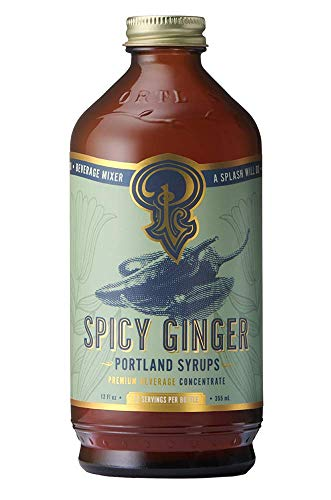 Portland Syrups Spicy Ginger Syrup (12 Fl Oz (Pack of 1))