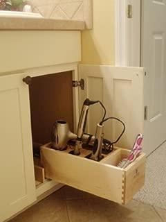 Vanity Storage Solutions Hair Appliance Organizer, Hair Dryer, Flat Iron, Curling Iron