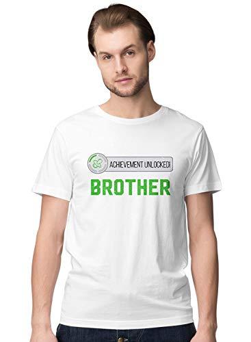 BLAK TEE Hombre Achievement Unlocked Big Brother Pregnancy Camiseta L