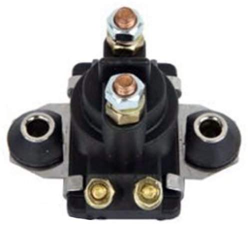 Solenoid Relay Switch Replacement For Mercury Marine 12 Volts 4 Terminals 20HP 25HP 40HP 45HP 50HP 55HP 60HP 65HP 70HP 80HP 90HP 89-818997A1 65W-81941-00-00