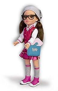 Nancy-Un día en el Instituto, muñeca con Uniforme y Accesorios (Famosa 700015784)