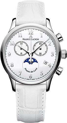 Maurice Lacroix Les Classiques LC1087-SS001-120-1 Armbanduhr Mondphase