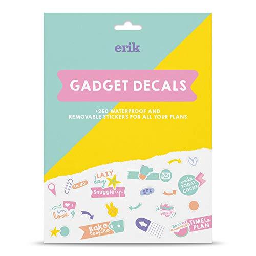 Grupo Erik Pegatinas para portátiles Accesorios Planificador Agenda, 260 stickers, GDGE015