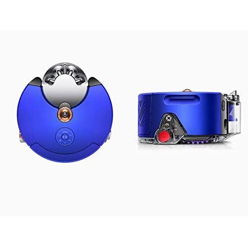 Dyson, Robot aspirapolvere 360 Heurist, con funzione di mappatura della casa, colore: blu nichel