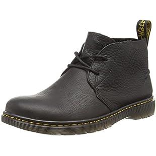 Dr. Martens Men's Ember Grizzly Black Unlined Desert Boots Half Shaft Boots and Bootees Black Size 9 UK:Lidl-pl