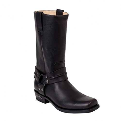 Sendra Boots 2380 schwarz Gr. 42,5 * incl. original Mosquito ® Stiefelknecht *