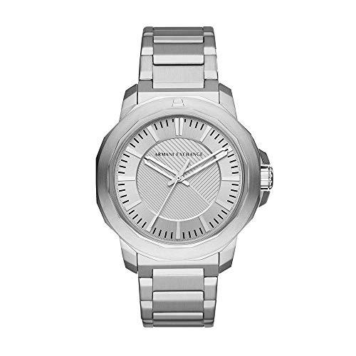 Relógio Masculino Armani Exchange Analógico Ax1900/1Kn Prata