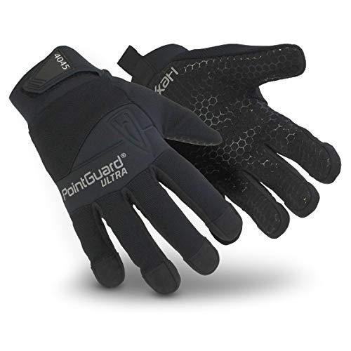 HexArmor PointGuard Ultra 4045 Polizei-Suchhandschuhe mit Nadel und Durchstoßfestigkeit, Größe S