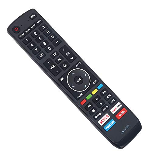 WINFLIKE EN3V39S Remote Control Replacement fit for Sharp TV LC-43Q7080U LC-50Q7000U LC-50Q7020U LC-50Q7030U LC-55Q7030U LC-43Q7000U LC-43Q7020U LC-43Q7050U LC-43Q7060U LC-43Q7070U LC-60H6080E Remote