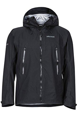 Marmot Herren Red Star Jacket Hardshell Regenjacke, winddicht, wasserdicht, atmungsaktiv, Schwarz (schwarz), L