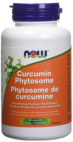 NOW Curcumin Phytosome 60 Veg Capsules, 20 g