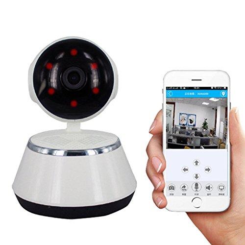 Sicherheitskamera / ¨¹berwachungskamera los Mit/WiFi Kamera/Dome Kamera Innen/IP Kamera mit LAN & WLAN P-X9100C, 3D Stereo ing ohne Deformation / 360 Augen Manuelle Steuerung Rotation