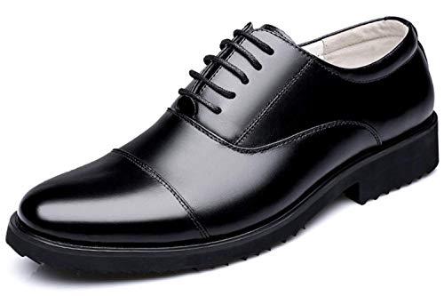 LINER Herren Business Schnürschuhe mit handgenähten und geklebten Sohlen