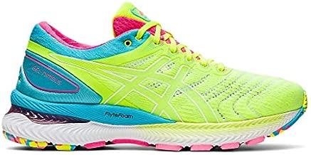 ASICS Women's Gel-Nimbus 22 Running Shoes, 9.5M, Safety Yellow/Safety Yellow