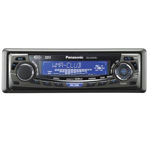 Panasonic CQ-C5303U Motorized Face MP3/WMA/CD Receiver with Bluetooth (50W X 4 max)
